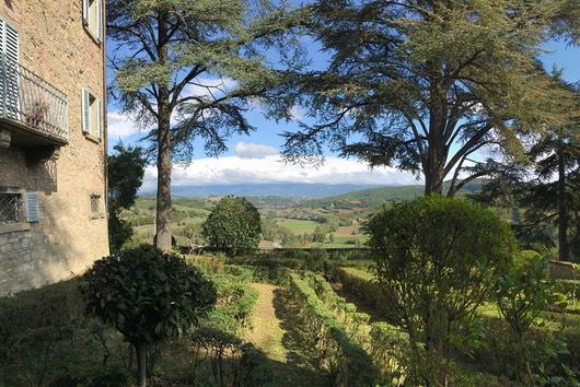 Garten der Villa Pia